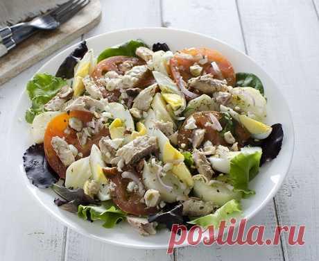 Салаты с картофелем