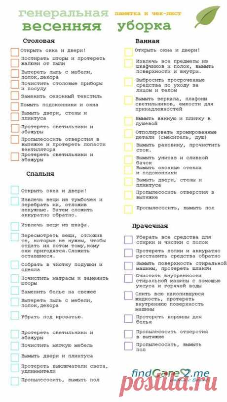 (257) the schedule of cleaning for a year of the FlyLady: 26th yew. zobrazhen znaydeno in Yandex. Zobrazhennyakh | Lena