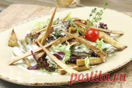 Салат Вегетарианский цезарь: рецепт | Смачно Как приготовить вегетарианский Цезарь. Рецепт Цезаря без мяса
