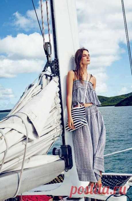 С мечтой о лете: морской стиль в одежде | Краше Всех