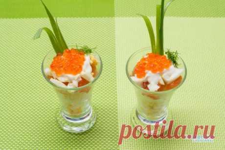 салатик из семги