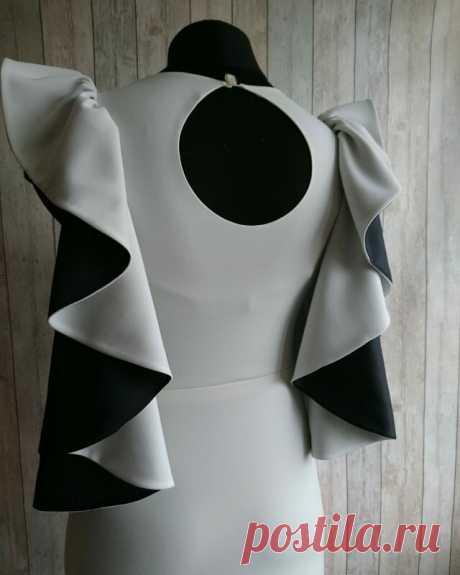 Сшила платье которое из провального стало успешным с одного поворота крыла   Ателье Зайцева & Дача   Яндекс Дзен
