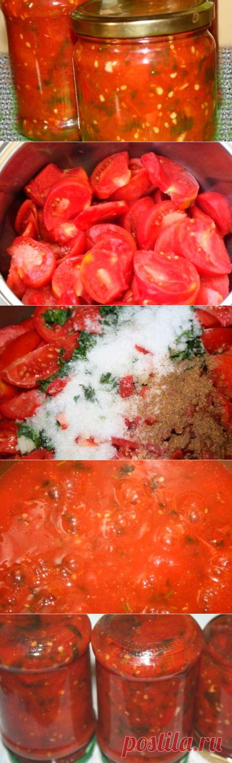 Остро-сладкий томатный соус к Рождественскому шашлыку и не только | Fresh-Recipes