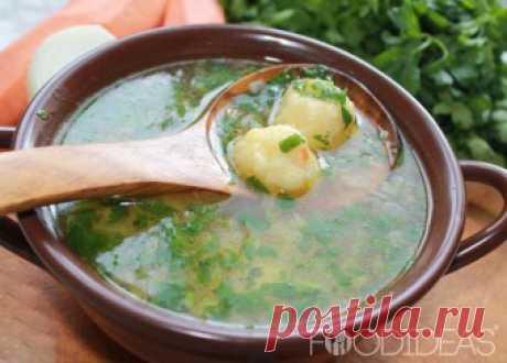 Рецепты - Суп с фрикадельками в домашних условиях c фото