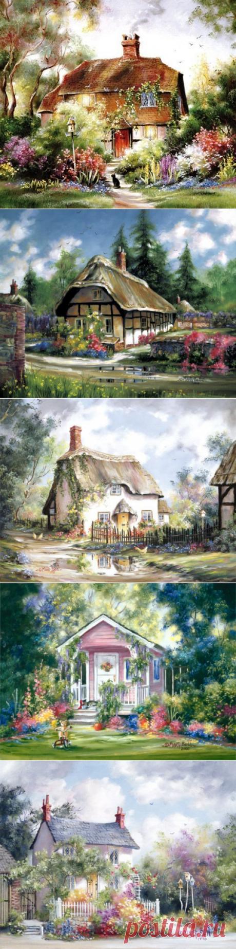 Отдохновение для глаз и души — бесконечно уютные и очаровательные домики Марти Белл