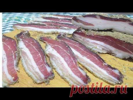 Как правильно и вкусно приготовить сыровяленый бекон Панчетту в домашних условиях без нитритной соли