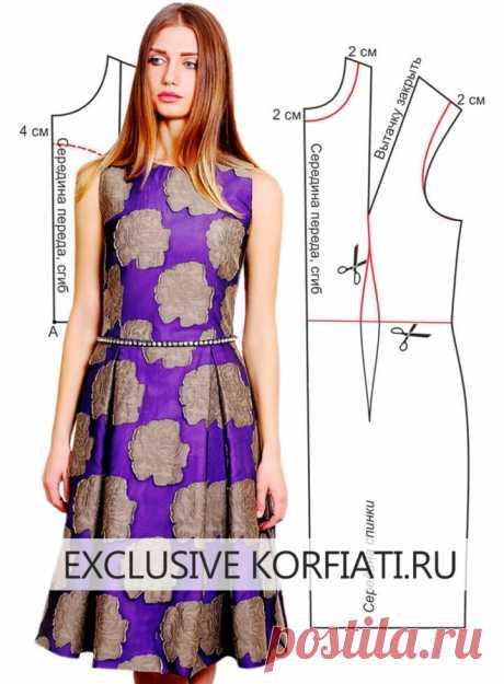 Три платья с пышной юбкой — элегантные модели по простым выкройкам  https://korfiati.ru/2013/03/tri-platya-s-pyishnoy-yubkoy/  Каждое из этих трех платьев, которые мы предлагаем вам сшить в этом уроке, очаровательно по-своему! Но тем не менее, у этих моделей есть то, что их объединяет – пышная юбка. Обратите внимание, все три юбки похожи, но, тем не менее, они все разные — в сборку, в складку, полусолнце… У каждой юбки — индивидуальный крой.  Обязательно сшейте одно из эти...