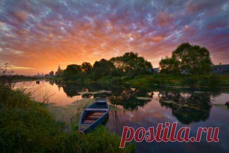 Фото дня. Рассвет в Дунилово.