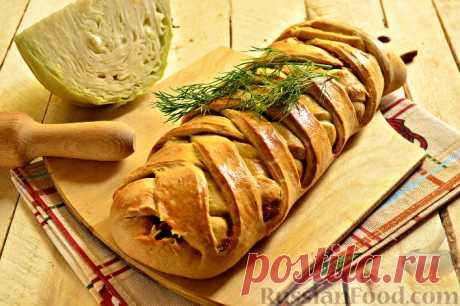 Рецепт: Кулебяка с капустой и яйцом.Предлагаем вам пополнить свою кулинарную копилку еще одним рецептом, в котором в качестве начинки используется капуста, а тесто замешивается на маргарине. Капуста для начинки дополнена репчатым луком и измельченной морковкой.