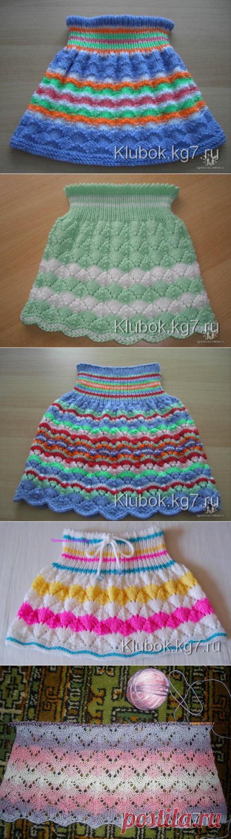Детские юбочки с от Ирины Вернер (Германия)
