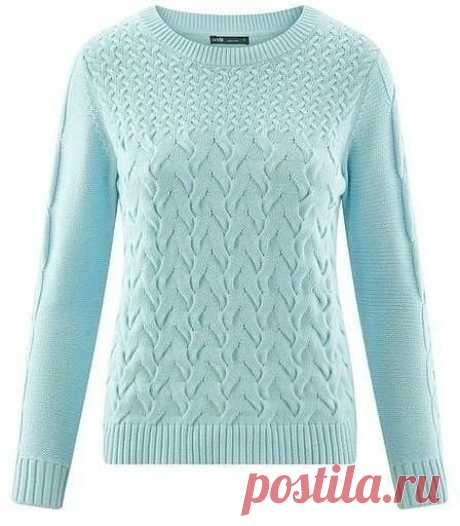 Вяжем красивый свитер