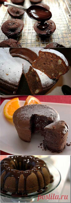 Шоколадные кексы - 5 рецептов с фото.