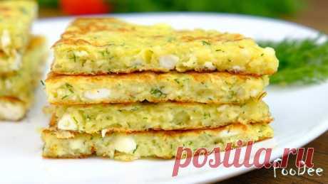 Простой и вкусный завтрак на скорую руку. Ленивые лепешки из творога — Кулинарная книга - рецепты с фото