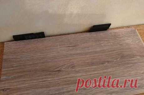Как исправить монтаж ламината без зазора у стены — Строительство и отделка — полезные советы от специалистов