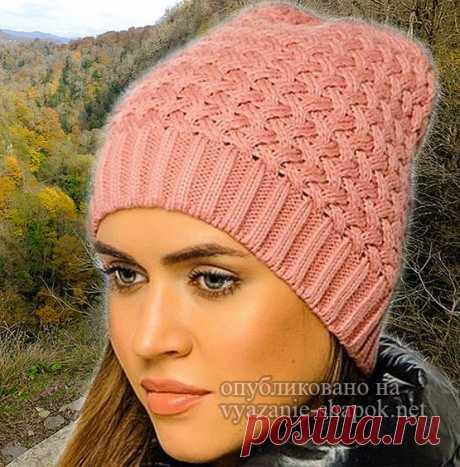 Женские шапки спицами | Вязание Шапок - Модные и Новые Модели - Part 3