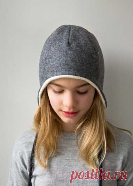 Выкройка фетровой шапочки с ушками (Diy) Модная одежда и дизайн интерьера своими руками