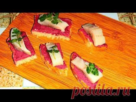 Намазка для бутербродов на праздничный стол