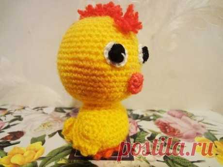 Цыплёнок Часть 1 Сhicken part 1 Crochet - YouTube