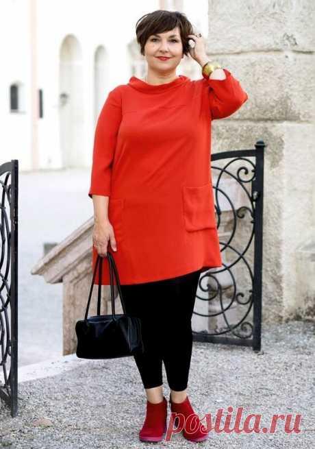 Мода для полной женщины 60+. Одеваемся современно и стильно | Жизнь пышки | Яндекс Дзен