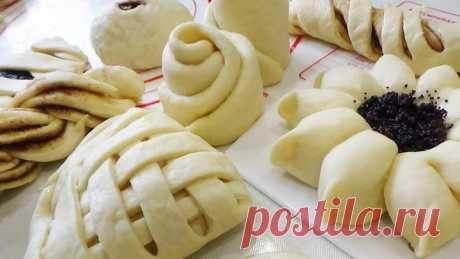 20 способов формирования красивых булочек!