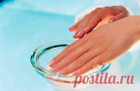 Чудесная ванночка для быстрого роста и укрепления ногтей