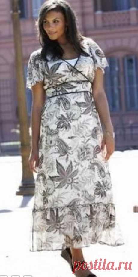 222 красивых летних платья для полных -