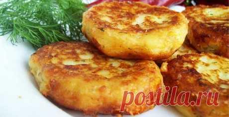 Пышные оладушки из картофельного пюре   Еда Для Тебя   Яндекс Дзен