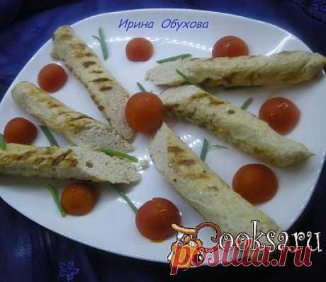 Нежные домашние сосиски из куриного филе рецепт с фото
