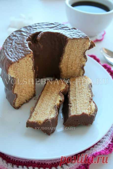Баумкухен. Рецепт немецкого пирога Baumkuchen с фото   Волшебная Eда.ру