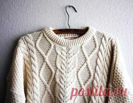 Как связать свитер спицами красиво и быстро. Мужские модели