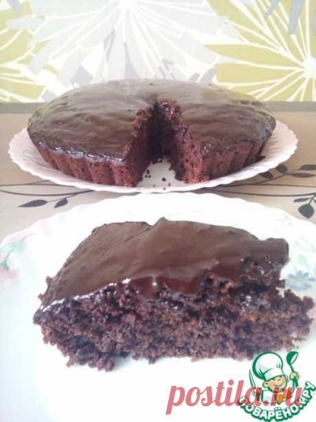 """Постный шоколадный пирог """"Бюджетник"""""""