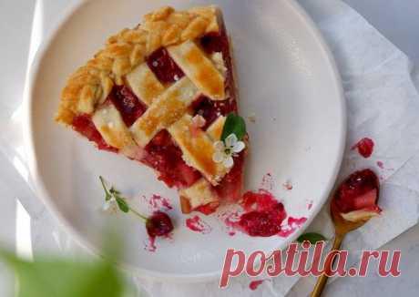 (13) Вишнево-яблочный пирог - пошаговый рецепт с фото. Автор рецепта Нелли(@nelly_buryak инстаграм) . - Cookpad
