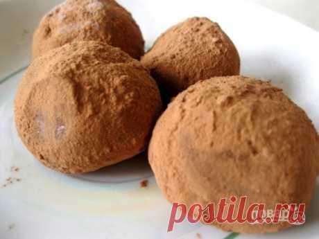 Конфеты домашние - пошаговый рецепт с фото на Повар.ру