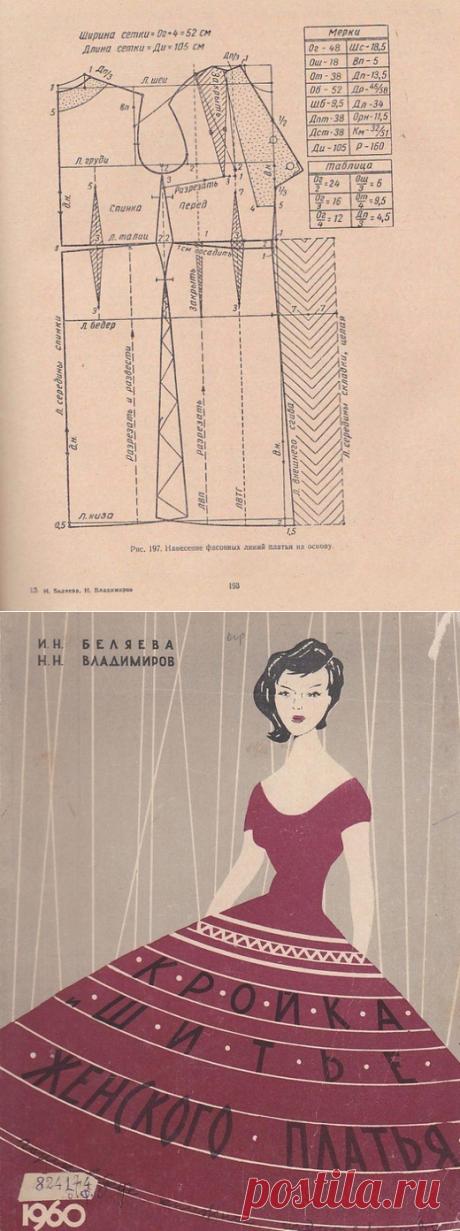 Кройка и шитье женского платья.Беляева И.Н., Владимиров Н.Н.(2).