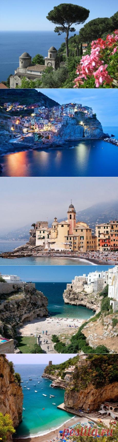 Поздний вечер в Сорренто: лучшие города итальянского побережья / Туристический спутник