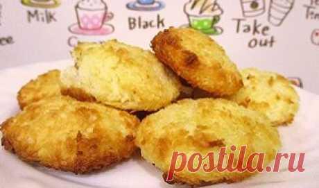 ПП печенье с кокосовой стружкой. Рецепт с пошаговыми фото