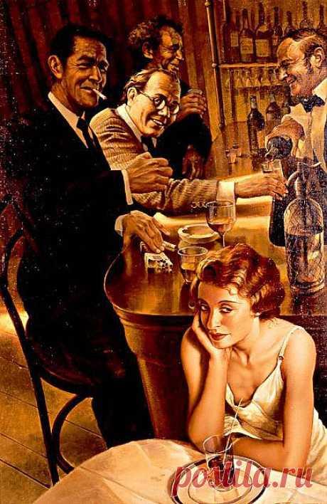 Кто-то подсел за столик, Без слов начиная фразу: Женщина с запахом кофе… Такую почувствуешь сразу.  Напиток изыскан, да дерзок. Своей ароматной вуалью Глаза цвета крепкого кофе раздавят чернеющей далью.  Улыбкой стекая в напиток, Качнулись зрачки да ресницы. Женщина с запахом кофе, Тобой невозможно напиться..