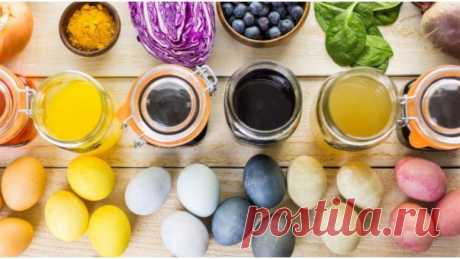 Natural dyes for eggs from what is in each kitchen — informed news 24