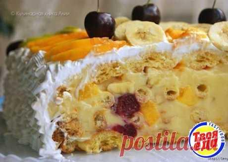 Тропиканка — вкусный летний торт