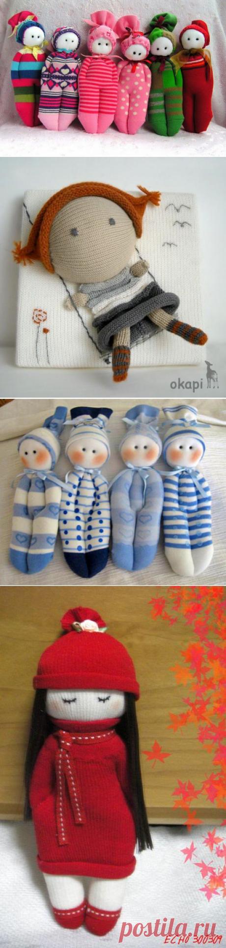 Куклы своими руками из носков, фото, инструкция