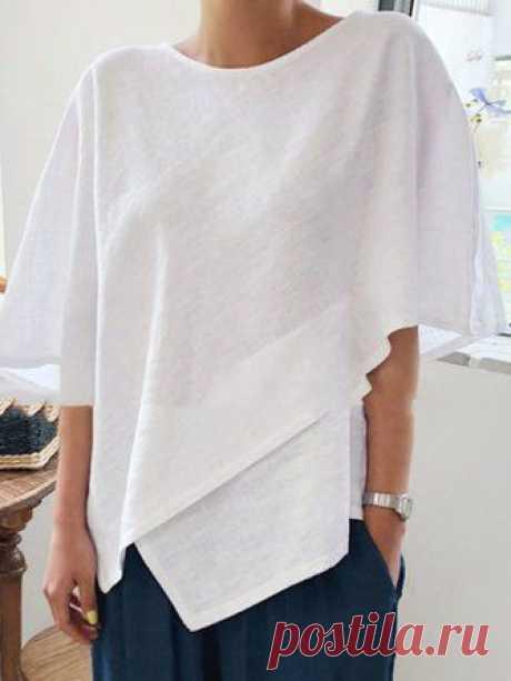 Выкройка интересного свитшота Модная одежда и дизайн интерьера своими руками