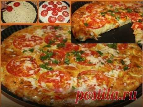 Как приготовить быстрая кабачковая пицца. - рецепт, ингредиенты и фотографии