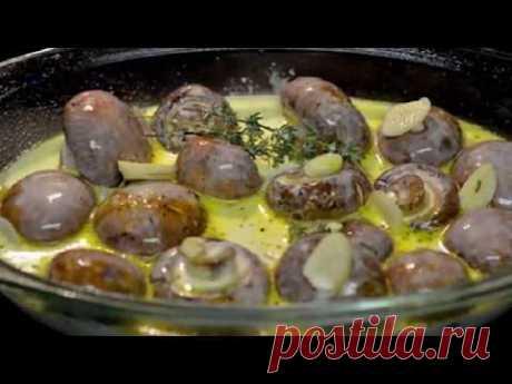 Неземное удовольствие! Грибы в таком соусе идеально подойдут для ужина или посиделок с гостями