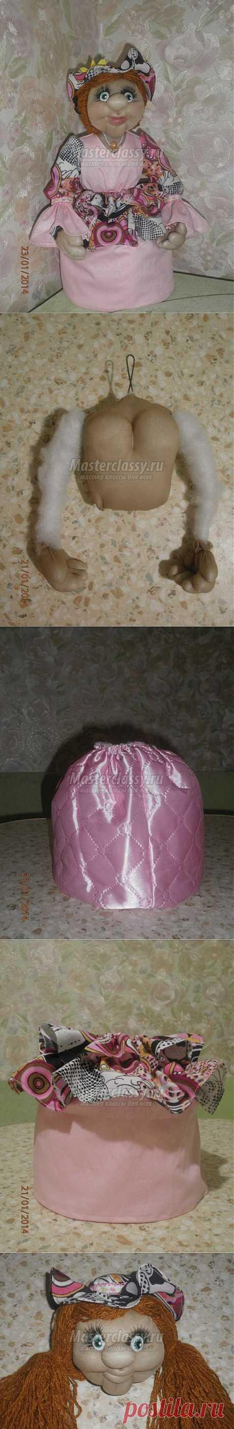 Текстильная кукла из капрона. Грелка на чайник. Мастер-класс с пошаговыми фото
