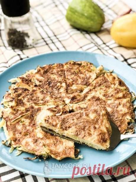 Лепёшка из овощей на сковороде — рецепт с фото пошагово