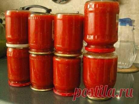 Делаем кетчуп