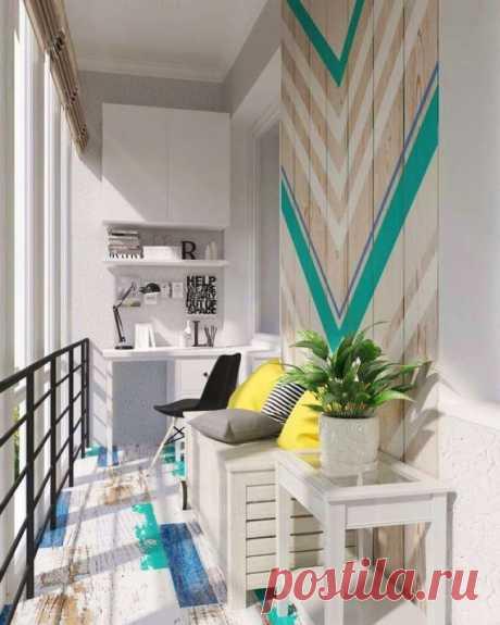 Идеальный балкон: лучшие новые идеи обустройства
