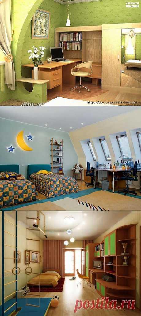 Интересные идеи, как обновить комнату без ремонта.