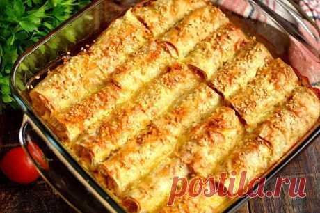 Блюдо из лаваша на миллион   Рецепты салатов и вкусняшек   Яндекс Дзен