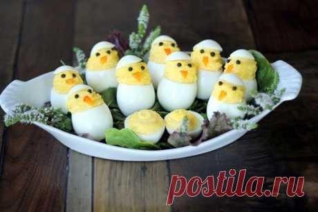 Идеи оригинальной подачи яиц